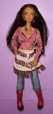 Barbie Lea Kayla Miko Asian Tan Cali Girl Western Poseable Doll for OOAK or Play