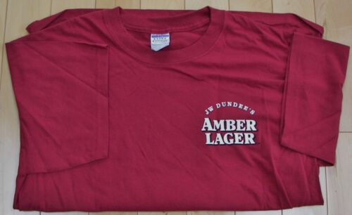 Rochester JW Dundee/'s American Amber beer NY brewery L or XXL t-shirt