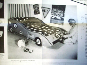 Child's Race Car bed woodworking pattern U-Bild #502 | eBay