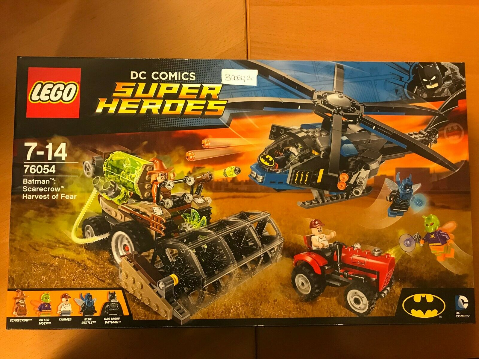 LEGO SUPER HEROES BATuomo SautoECROW HARVEST OF FEAR nuovo SEALED N 76054