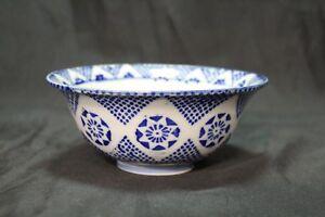 Antique-Chinese-Blue-and-White-Porcelain-Bowl-Dot-Star-Burst-Pattern