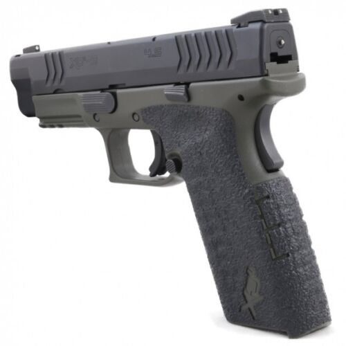 M Full Size 9mm// .40 214R Rubber Large Backstrap Talon Grips Springfield XD