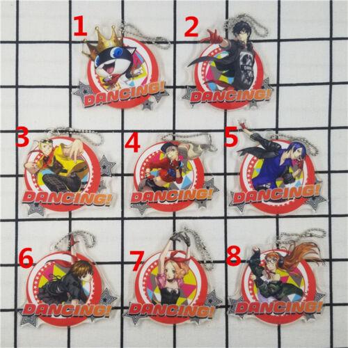 T1397 Anime Persona acrylic Keychain Key Ring Rare straps cosplay