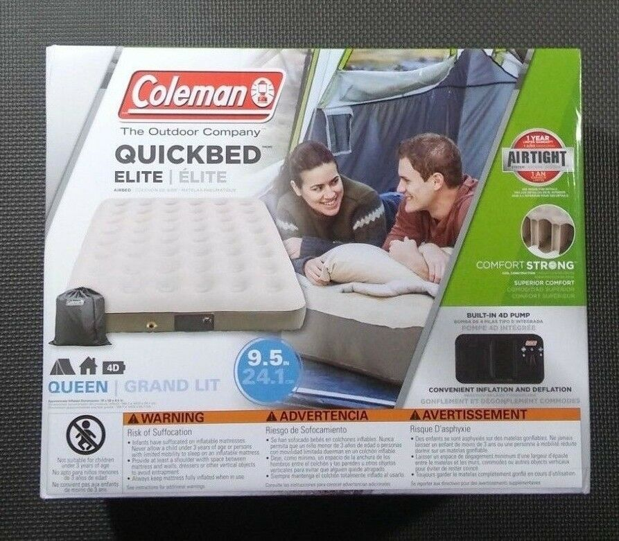 Coleman Quick Bed Plus Single High Airbed Mattress