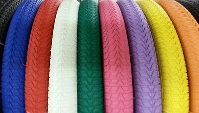 TWO DURO 20X1.75 BMX BICYCLE TIRES /&TUBES PICK COLOR AT CHECKOUT IN MESSAGE 2