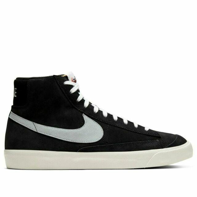 Size 11.5 - Nike Blazer Mid 77 Black Suede 2020 for sale online   eBay