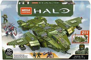 Pelican Inbound Mega Construx Halo Infinite Vehicle Multicolor