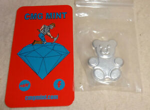 CMG-Mint-2015-50g-999-Fine-Silver-Gummy-Bear-Mintage-99