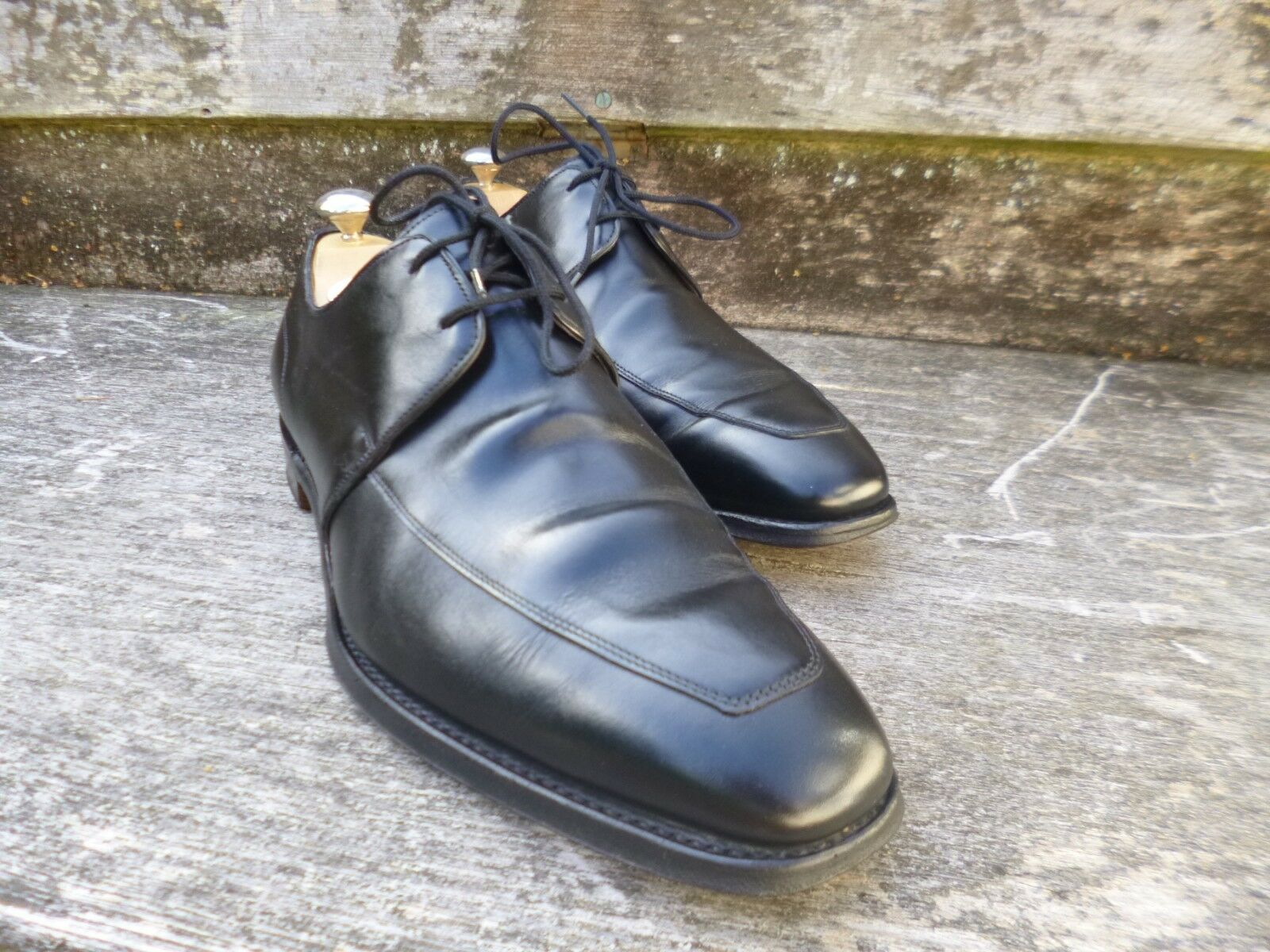 CHEANEY GIBSON – BLACK – UK 9.5 – WIMBLEDON - EXCELLENT CONDITION