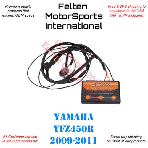 Lexx Yamaha YFZ450R Fuel Controller Power Programmer Tuner YFZ 450R EFI 09-11
