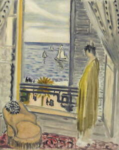 Henri-Matisse-Woman-At-The-Fenetre-Poster-Reproduction-Giclee-Canvas-Print
