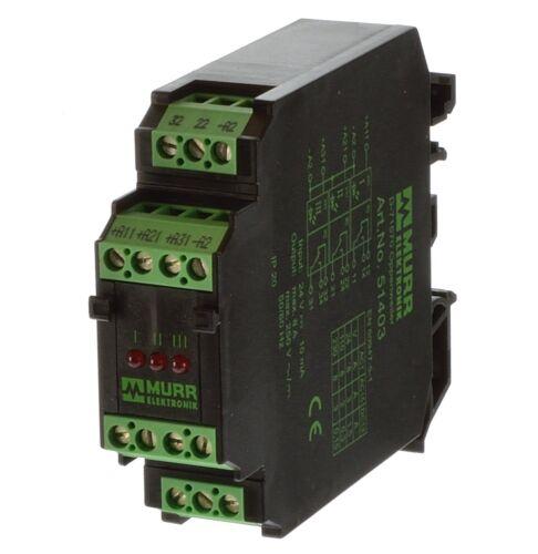 Murr 51403 Relaismodul RM-31//24V DC KL.BZ.N.EN