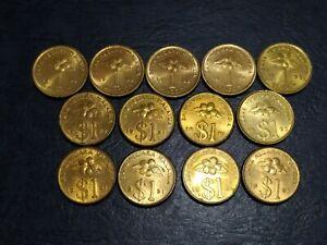 RM1-Golden-Coin-1989-1995-13-Pcs