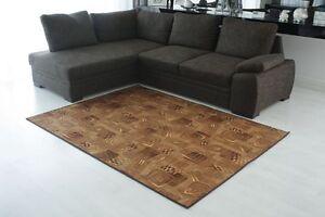 Teppich-Teppichboden-Futura-braun-40-Wohnzimmer-Jugendzimmer-kurzflor-meterware
