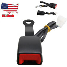 Car Driver Front Seat Belt Buckle Socket Plug Clip Connector With Warning Cable Us Fits Toyota