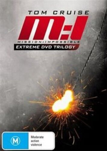 1 of 1 - M:I MISSION : IMPOSSIBLE EXTREME DVD TRILOGY Tom Cruise 3DVD NEW