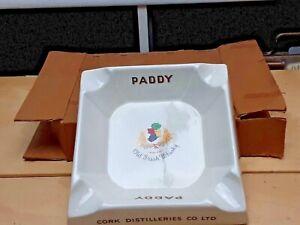 Paddy Old Irish Whiskey Cork Distilleries Co Ireland Cigar Ashtray