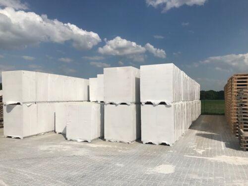 146,88 m² 6 Paletten Plansteine PP2//0,4-5,5 x 17 x 50 cm
