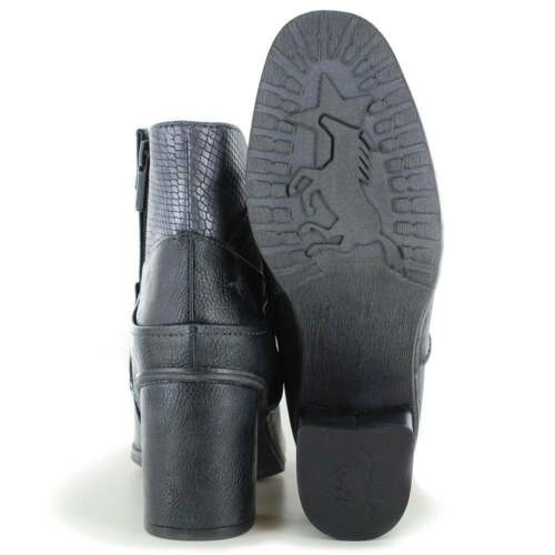 820 501 Womens Boots Navy Ankle 1251 Mustang PqfwEgn