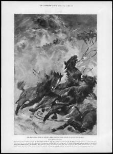 1898-Antique-Print-KENT-Margate-Great-Storm-Life-Boat-Launch-Horses-Drown-85