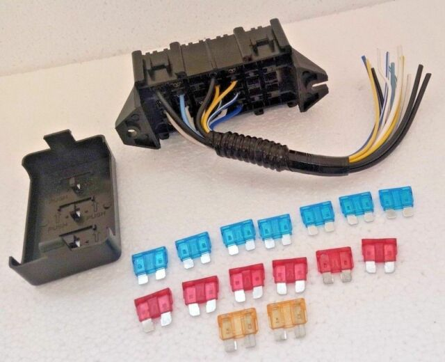 Main Fuse Box W   Wire Pigtail   Suzuki Samurai 86