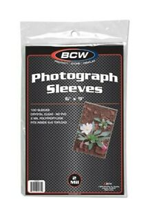 500 BCW Small Modern Currency 2-Mil Acid Free Soft Poly Sleeves archival covers