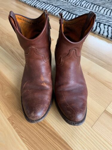 Frye Western Ankle Boots