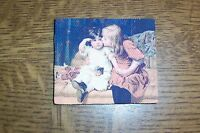 Picture On Canvas Motive Children -miniatur 1:12 - Dollhouse