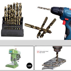 13pcs-M42-HSS-Twist-Drill-Bit-Set-For-Stainless-Metal-8-High-Cobalt-Copper-Iron