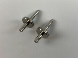Thorens TD 160 145 165 166 hinges hinge pins schanrierstifte stainless steel