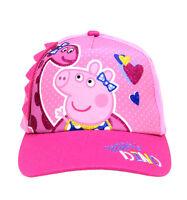 Peppa Pig Dino Girls Baseball Cap Hat