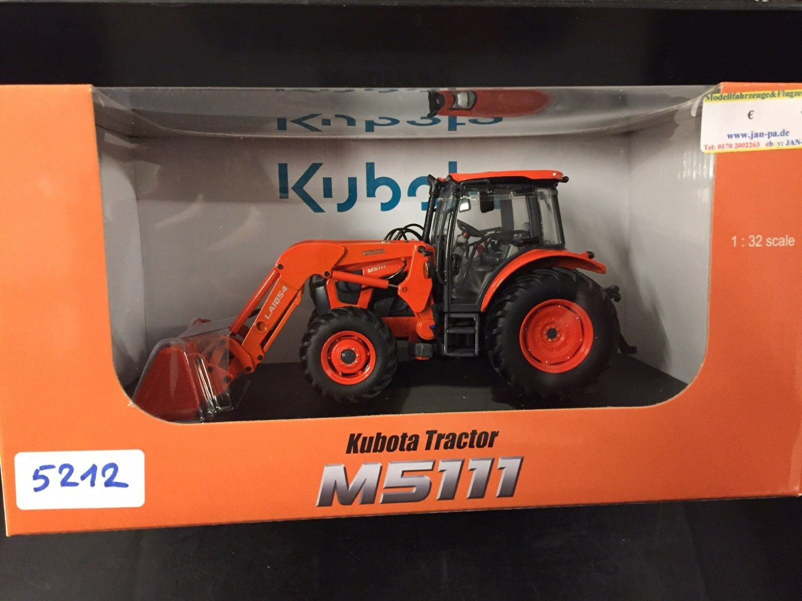 5212 Kubota M5111 med Front Loader 1 3 2 universell hobbies