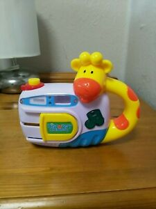 JOHN-LEWIS-DISCOVERY-CAMERA-MUSICAL-TOY-Full-Working-Condition