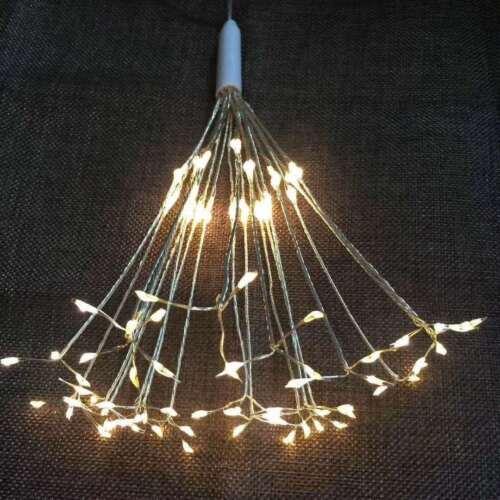 150leds Firework LED Copper Wire Strip String Lights For Wedding Decor Light KY