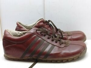 9829a2f4c06 Details about Steve Madden Rascals Red Brown Leather Fashion Sneaker  Driving Men Shoe 13M 47,5