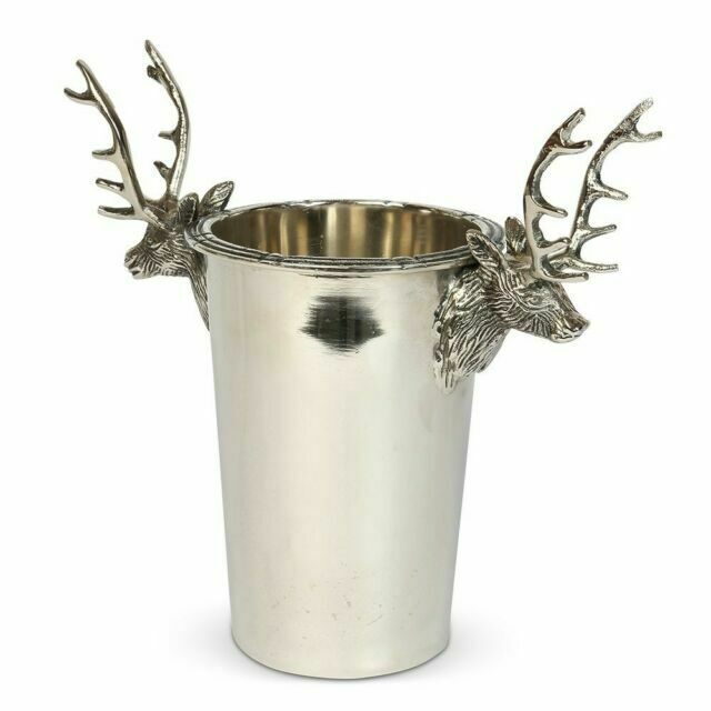 Culinary Concepts Stag Single Wine Champagne Bottle Cooler Drinks Presentation