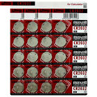20 x Maxell Lithium CR2032 batteries 3V Coin Cell DL2032 BR2032 ERC2032 EXP:2021