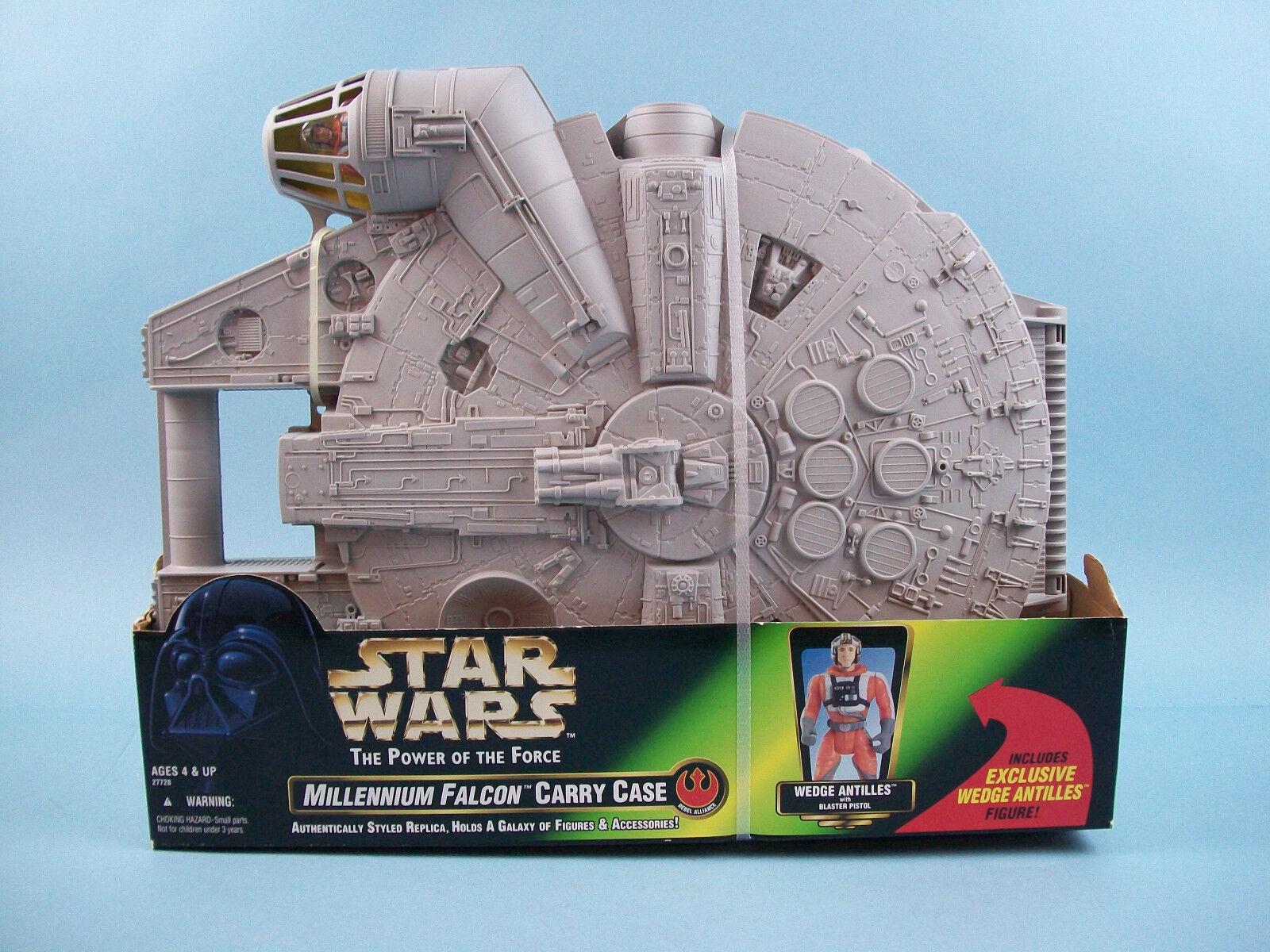 Star wars potf millennium - falken transportbox w   keil antillen abbildung kenner