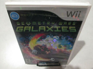 Geometry-Wars-Galaxies-Nintendi-Wii-Brand-New-Factory-Sealed-Wii-U