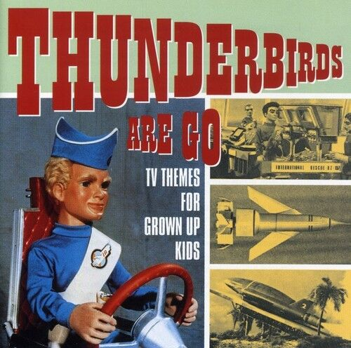 1 of 1 - Various Artists - Thunderbirds Are Go - TV Themes / Various [New CD] UK - Import