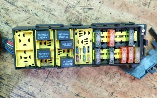 Jeep Cherokee XJ 96 4.0 Auto Fuse Box Relay Under Hood Electronic Panel Block