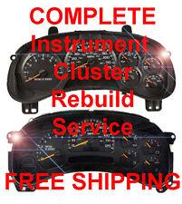 GMC YUKON / DENALI Speedometer Instrument Cluster Gauge and Display REPAIR