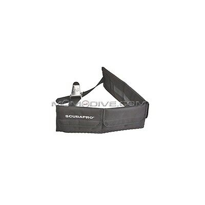 CINTURA SUB DI ZAVORRA SCUBAPRO 5 TASCHE FIBBIA IN ACCIAIO POCKET WEIGHT BELT XL