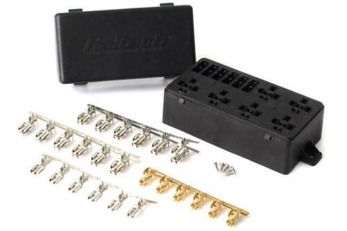 Haltech circuit 6 haltech Boîte à fusibles avec couvercle