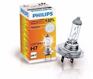 philips h7 vision bright 12v 30 halogen headlight lamp. Black Bedroom Furniture Sets. Home Design Ideas