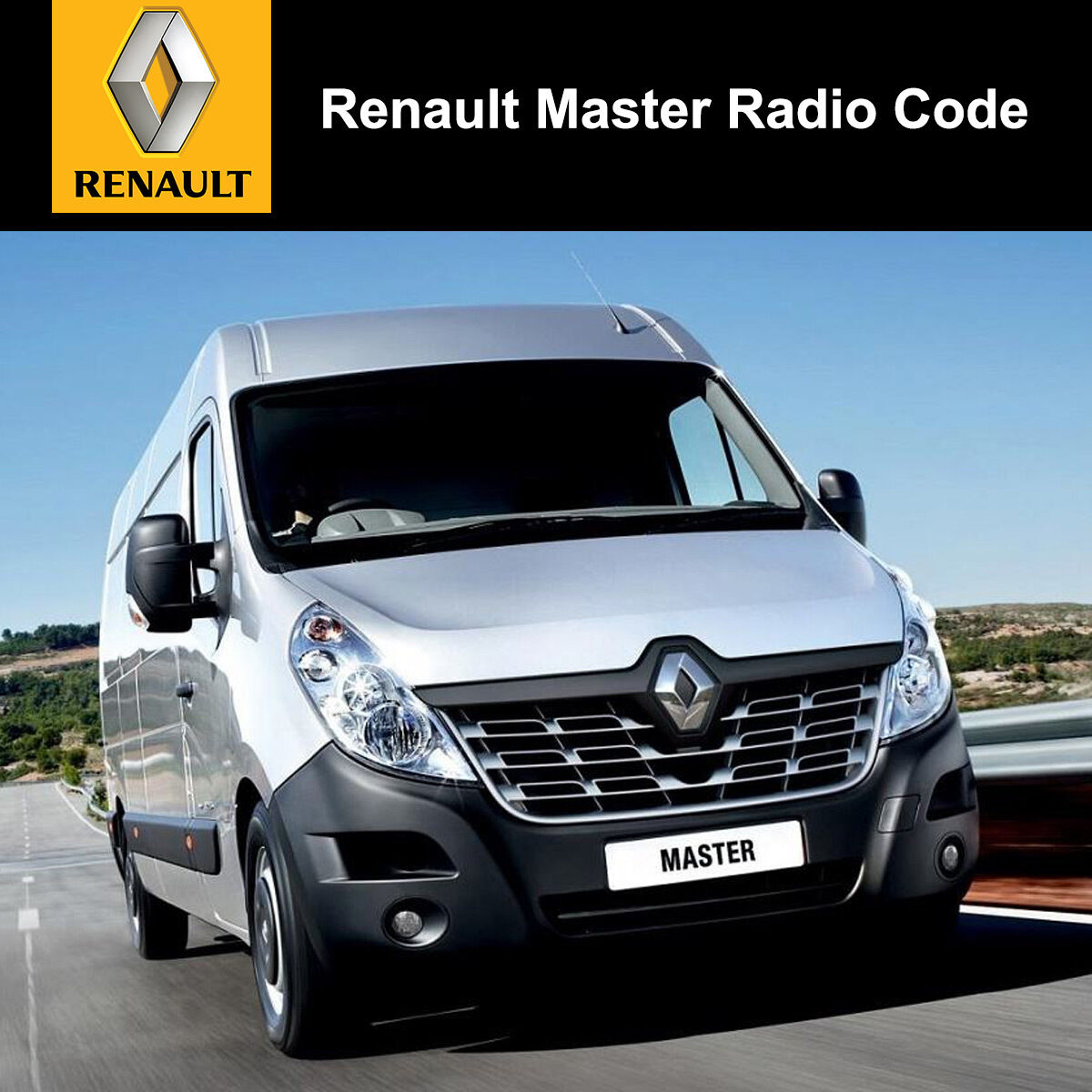 Renault Master Radio Code Stereo Decode Car Unlock Fast Service Uk All Vehicles Ebay