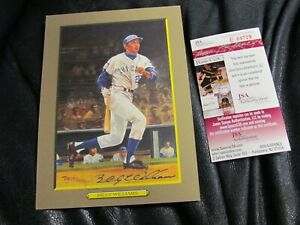 Billy-Williams-AUTOGRAPHED-Great-moments-No-69-Perez-Steel-Photo-JSA-Cert