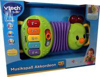 Neu Vtech Baby Musikspaß Akkordeon Mit Licht Ab 18 Monaten Sprache + Musik