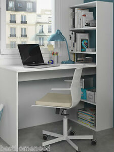 Image Is Loading Corner Computer Desk White Home Office Furniture Study