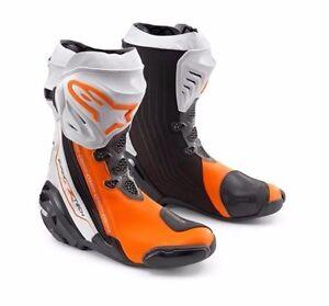 new 2016 ktm alpinestars supertech r boots street touring. Black Bedroom Furniture Sets. Home Design Ideas